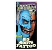 Tinsley Transfers Tinsley Tattoo FX - Big Mouth Tattoo - 2 Faced