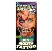 Tinsley Transfers Tinsley Tattoo FX - Big Mouth Tattoo - Chompers