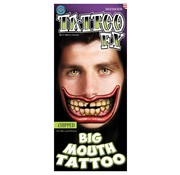 Tinsley Transfers Tinsley Tattoo FX - Big Mouth Tattoo - Chipped