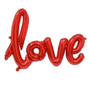 Joni's Winkel Folieballon LOVE Rood 54x38 cm