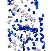 UNIQUE Partyshooter Streamers Blauw/Zilver 5 stuks