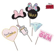 Disney Foto Props Minnie Mouse 6 stuks