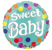 Anagram Folieballon Sweet baby 43 x 43 cm