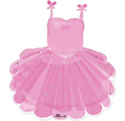 Anagram Super Shape Folieballon Ballerina Tutu 58 x 71 cm