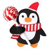 Joni's Winkel Lolly houders Pinguïn 10 stuks