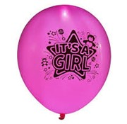 Illooms Illooms Roze It's a Girl Ballonnen