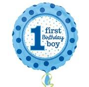 Anagram Folieballon First birthday boy 45 cm