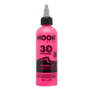 Moon Creations Moon-Glow NEON Fabric paint ( Textiel verf ) Roze  125 ml