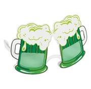 PartyXplosion Bierglas bril groen