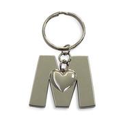 """Miko Luxe sleutelhanger """"Letter M"""""""