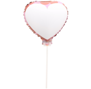 Folat Beschrijfbare folieballon 23 x 23 cm