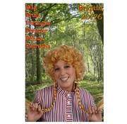 Pruik Brigitte Blond