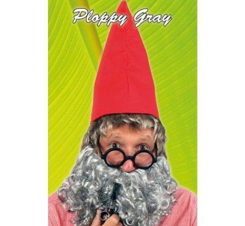 Baard Ploppy grijs
