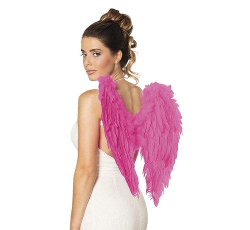 PartyXplosion Engele vleugels Roze 60 x 75 cm