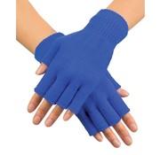 Boland Vingerloze  handschoen Royale Blauw