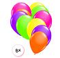Ballonnen Neon 8 stuks 25 cm