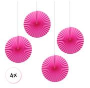 Joni's Winkel Waaiers Roze 4 stuks 30 cm