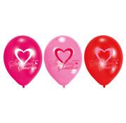 Amscan Ballonnen Lovely Moments 6 stuks 28 cm
