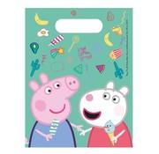Disney Uitdeelzakjes Peppa Pig Messy 6 stuks