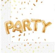 Procos Servetten Party 20 stuks 33 x 33 cm