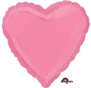 Anagram Standard Shape Folieballon Hart roze 43 x 43 cm