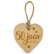 """Miko Houten Hartjes & Engeltjes """"50 Jaar"""""""