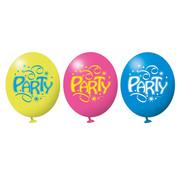 Amscan Ballonnen Party 6 stuks 28 cm
