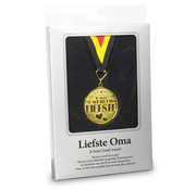 """Miko Gouden Medaille 'Liefste Oma"""""""