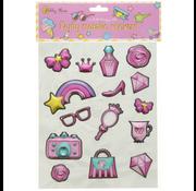 Stickers Puffy Princess