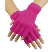 Boland Vingerloze  handschoen Neon Roze