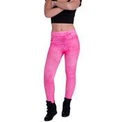 Boland Denim legging Neon Roze Maat M