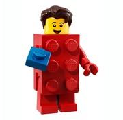 Lego LEGO® Minifigures Series 18 - Man in LEGO stenenpak 2/17 - 71021
