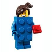 Lego LEGO® Minifigures Series 18 - Meisje in LEGO stenenpak 3/17 - 71021