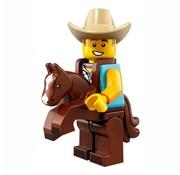 Lego LEGO® Minifigures Series 18 - Man in cowboykostuum 15/17 - 71021