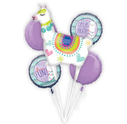 Anagram Ballonnen Bouquet Llama Fun 5 stuks