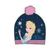 Joni's Winkel Kinder Muts Elsa Blauw