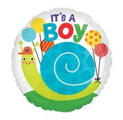 Anagram Standard Shape Folieballon It's a Boy 43 x 43 cm