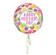 Anagram Orbz Folieballon Happy Mother's Day 38 x 40cm