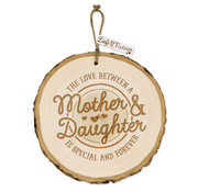 "Miko Boomschijf Hanger ""Mother & Daughter"""