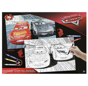 Disney Disney's Cars inkleur puzzel 50 stukjes