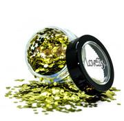"""LoveShy LoveShy Bio Degradable Chunky Glitters """"Gold Dust"""" 3 gr"""