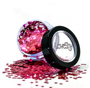 "LoveShy LoveShy Bio Degradable Chunky Glitters ""Chiffon Rose"" 3 gr"