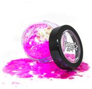 "PaintGlow PaintGlow Fantasy Iridescent Chunky Loose Glitters ""Flamingo Fiesta"" 3g"