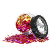 "PaintGlow PaintGlow Fantasy Iridescent Chunky Loose Glitters ""Dragon Heart"" 3g"