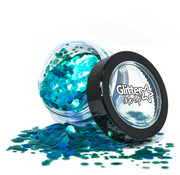 "PaintGlow PaintGlow Fantasy Iridescent Chunky Loose Glitters ""Leprechaun Luck"" 3g"