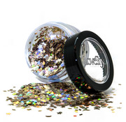 "PaintGlow LoveShy Holographic Moon & Stars Glitters ""Golden Girl"" 3g"