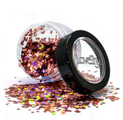 "PaintGlow LoveShy Holographic Moon & Stars Glitters ""Rose Gold"" 3g"