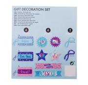 """Joni's Winkel Labels cadeau decoratie set """"Let's celebrate"""""""