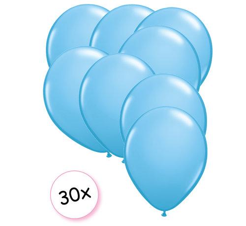 Joni's Winkel Ballonnen Licht blauw 30 stuks 27 cm