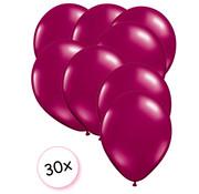 Joni's Winkel Ballonnen Fuchsia 30 stuks 27 cm